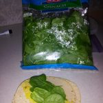 Rollups Spinach Step