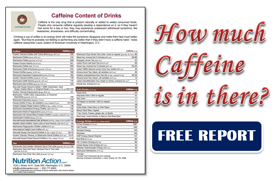 caffeine report Too much caffeine caused the death of davis allen cripe,  cnn's jacqueline  howard and jen christensen contributed to this report.